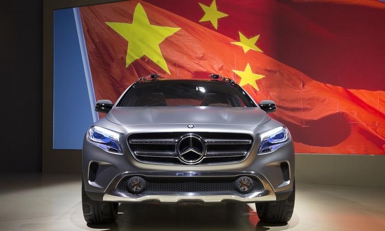 """2. ortak da geldi: Mercedes, adım adım """"Çinli"""" oluyor"""