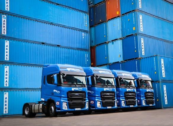 Arkas Lojistik filosuna 55 Ford Trucks çekici daha kattı