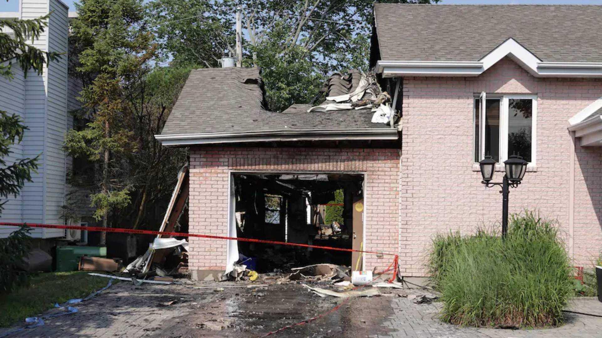Elektrikli Hyundai Kona garajda patladı