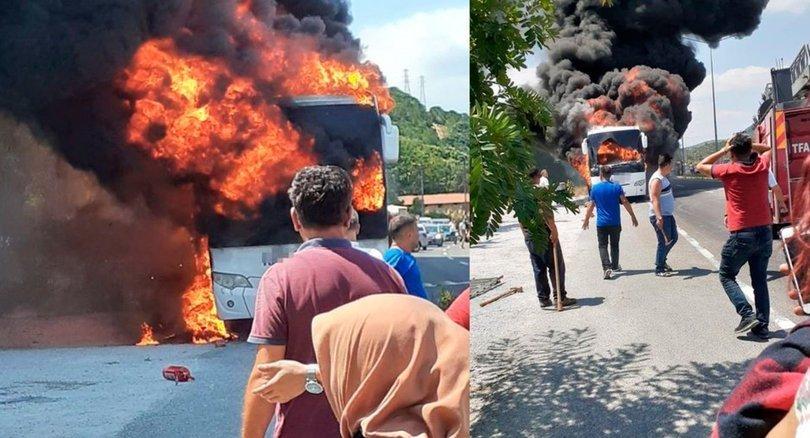 Otobüs yangınında baş şüpheli: 10 numara yağ