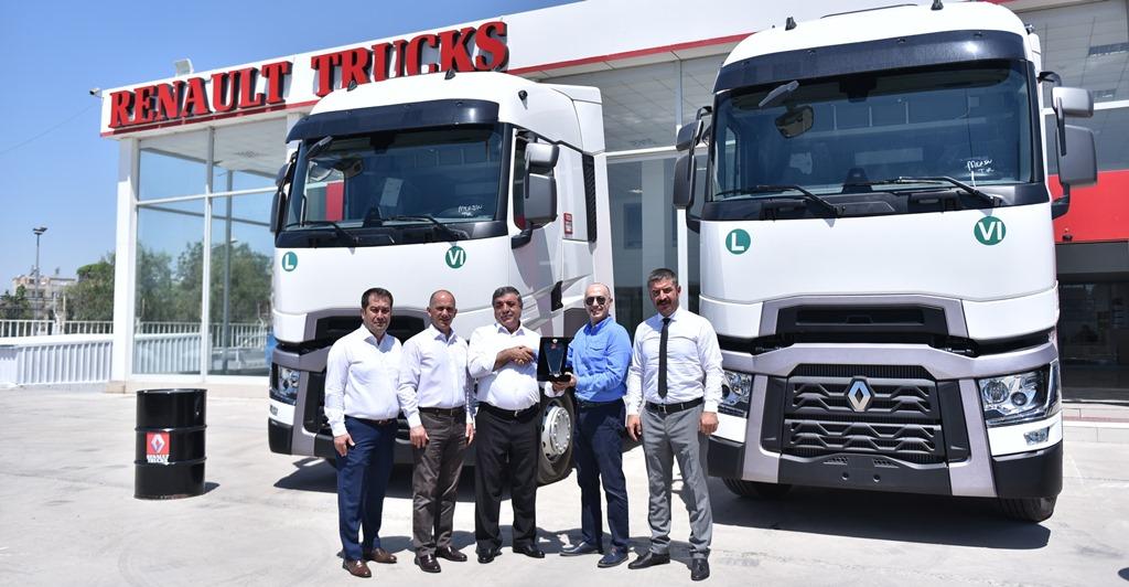 Renault Trucks, Mersin'de de hız kesmiyor