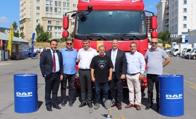 DAF Drive Chalenge'da Türkiye şampiyonu belli oldu