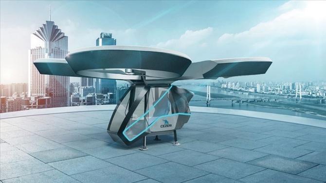 Milli uçan arabanın prototipi hazır