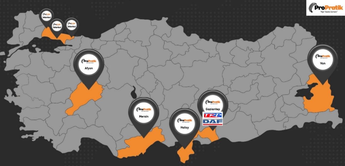 Daf Trucks Turkey, Gaziantep'te Elbeyli ile yürüyecek