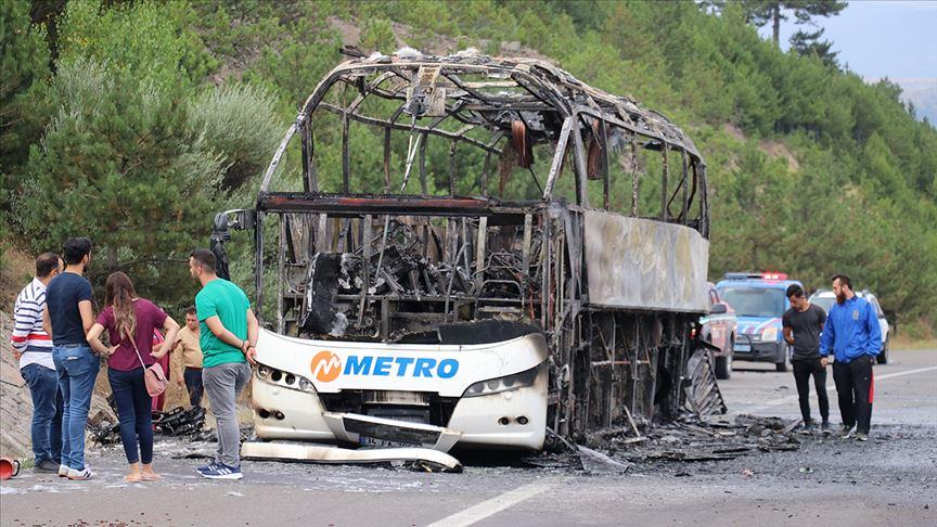 Metro'dan açıklama: Niçin yanıyorlar biz de anlamadık