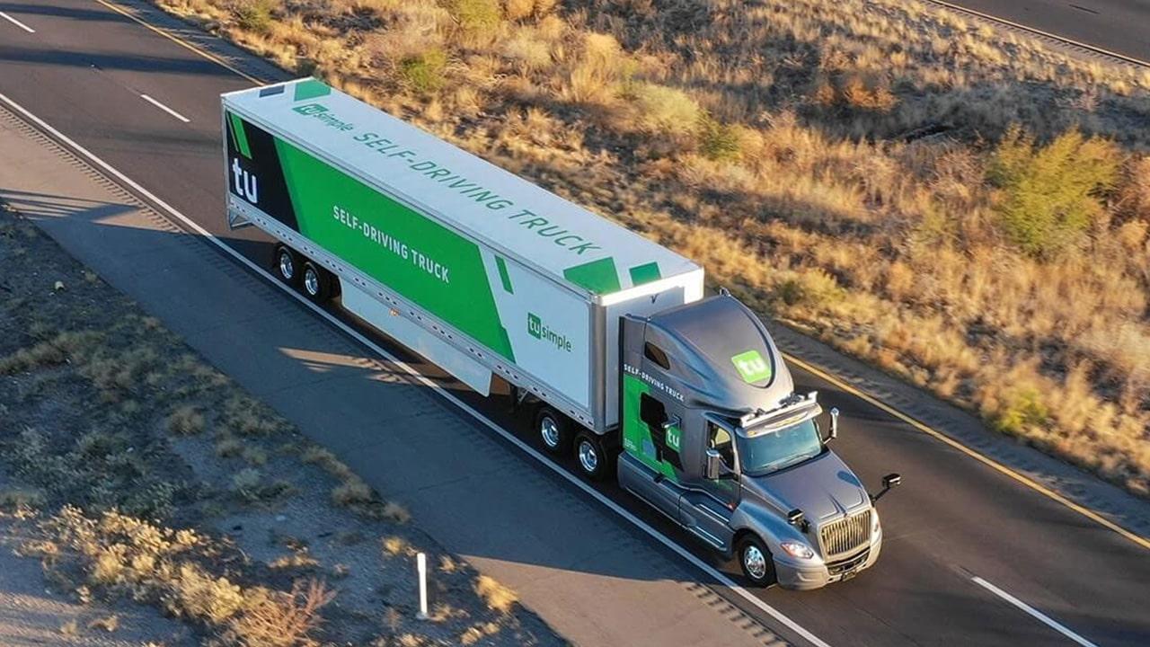 UPS, sürücüsüz TIR'larla sevkiyata başladı