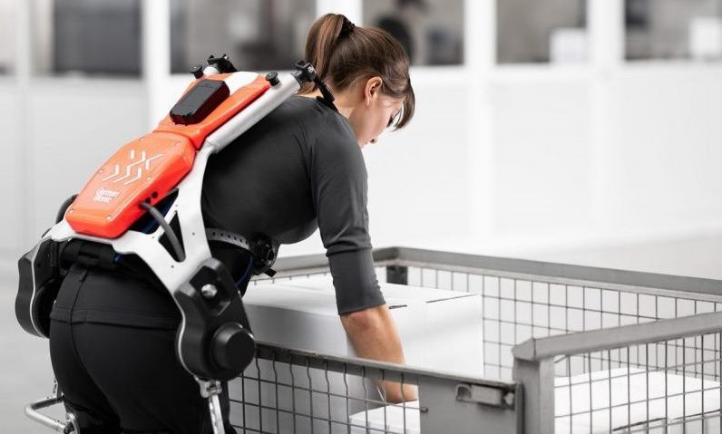 DB Schenker tests use of bionic 'exoskeletons' in warehouses
