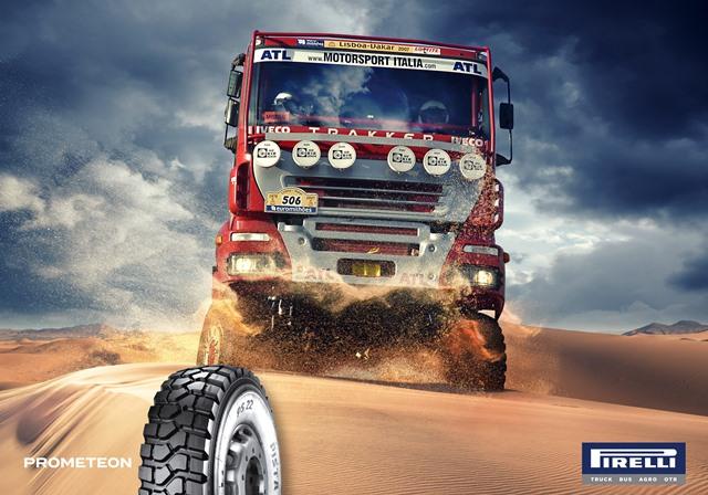 Prometeon'dan ağır vasıta off-road araçlara özel lastik serisi