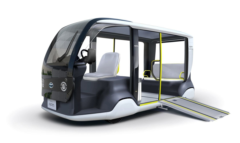 Tokyo 2020'de taşımayı Toyota elektrikliler üstlenecek
