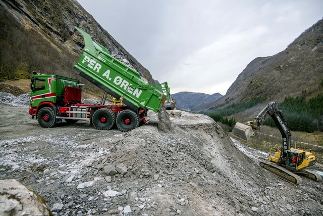 Norveç'te Allison şanzıman donanımlı Scania 6x6 G500 dönemi
