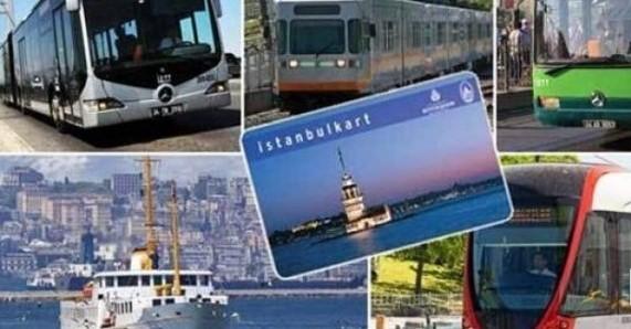 İstanbul'da ulaşımın tüm birimlerine zam