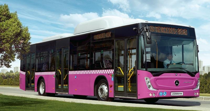 Mercedes, CNG'li otobüsler için kesenin ağzını açtı