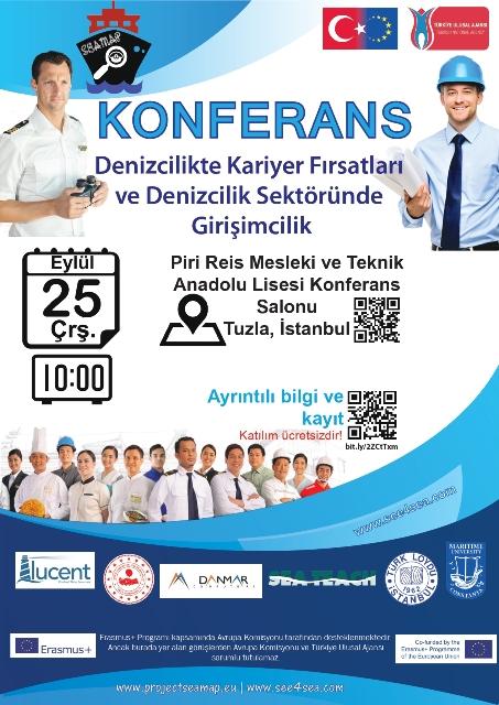 """""""Denizcilikte Kariyer Fırsatları ve Girişimcilik"""" Konferansı"""