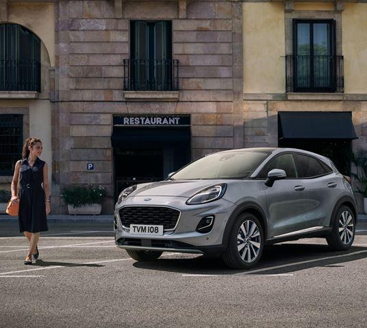 Ford'un Puma Titanyum X'i Frankfurt'ta sahne alacak