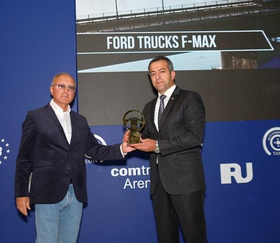 """F-MAX, Rusya'da da """"Yılın Kamyonu"""" seçildi"""