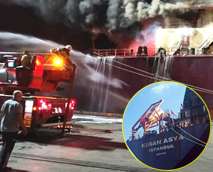 Kıran Holding'in gemisinde yangın
