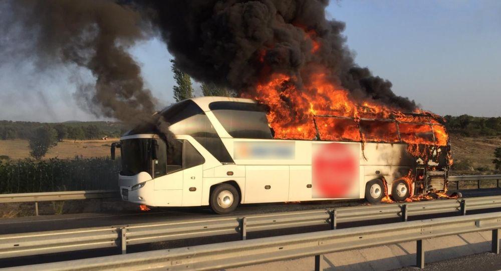 TÜRSAB, otobüs yangınlarını masaya yatırdı