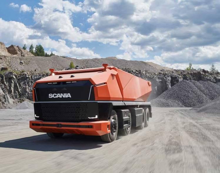 Scania'nın kabinsiz otonom kamyonu: Scania AXL