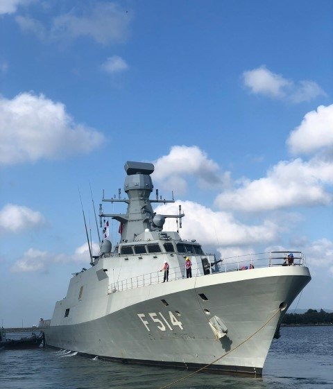 İşte Türkiye'nin ürettiği ilk savaş gemisi