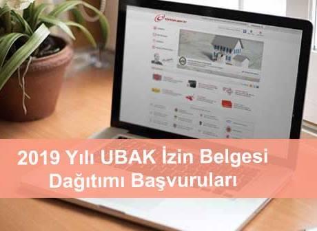 UBAK izin belgelerinde başvuru için son gün