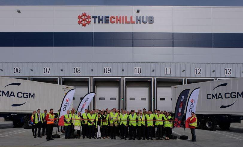 CEVA Logistics inaugurates 'Chill Hub' at London Gateway