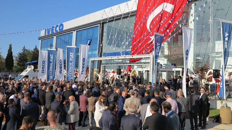 IVECO, İstanbul'daki en büyük tesisini açtı
