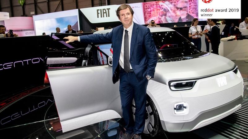 Fiat Centoventi'ye Red Dot Tasarım Ödülü!