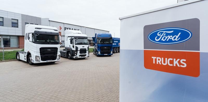 Ford Trucks artık Polonya ve Litvanya'da da var