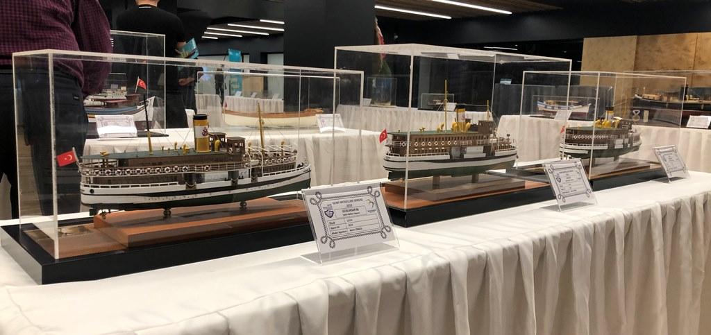 Geleneksel Gemi Modelcileri Sergisi Beylikdüzü'nde