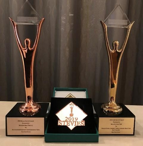Mercedes-Benz Türk'e 2 Stevie Ödülü birden