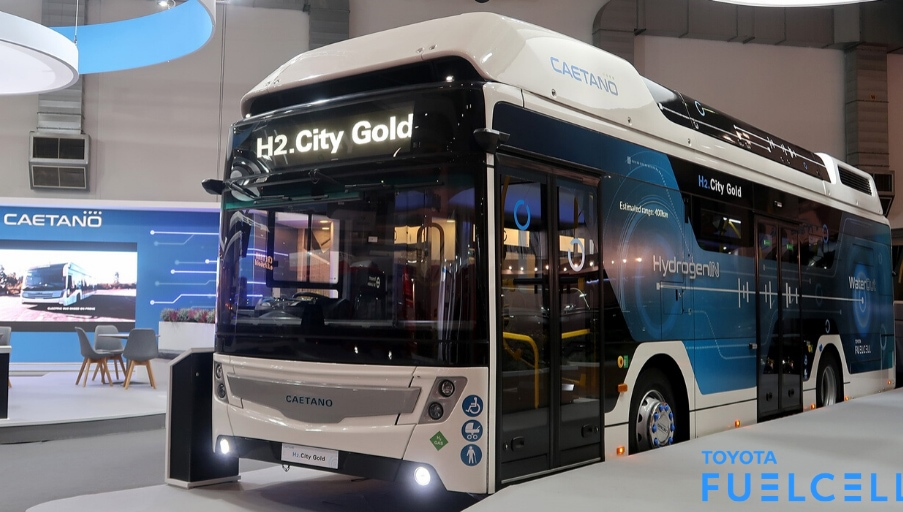 Toyota'nın hidrojenli otobüsü 2020'de yollarda