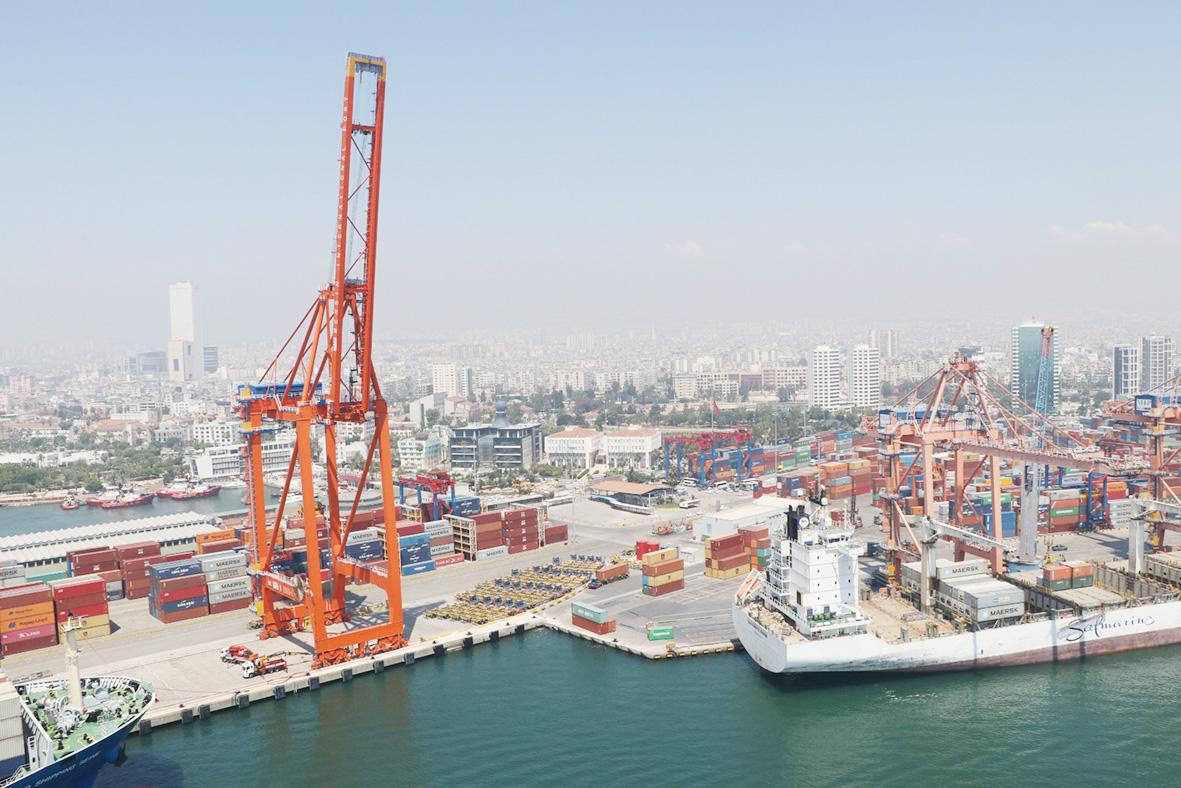 Mersin Limanı  rekora doymuyor!