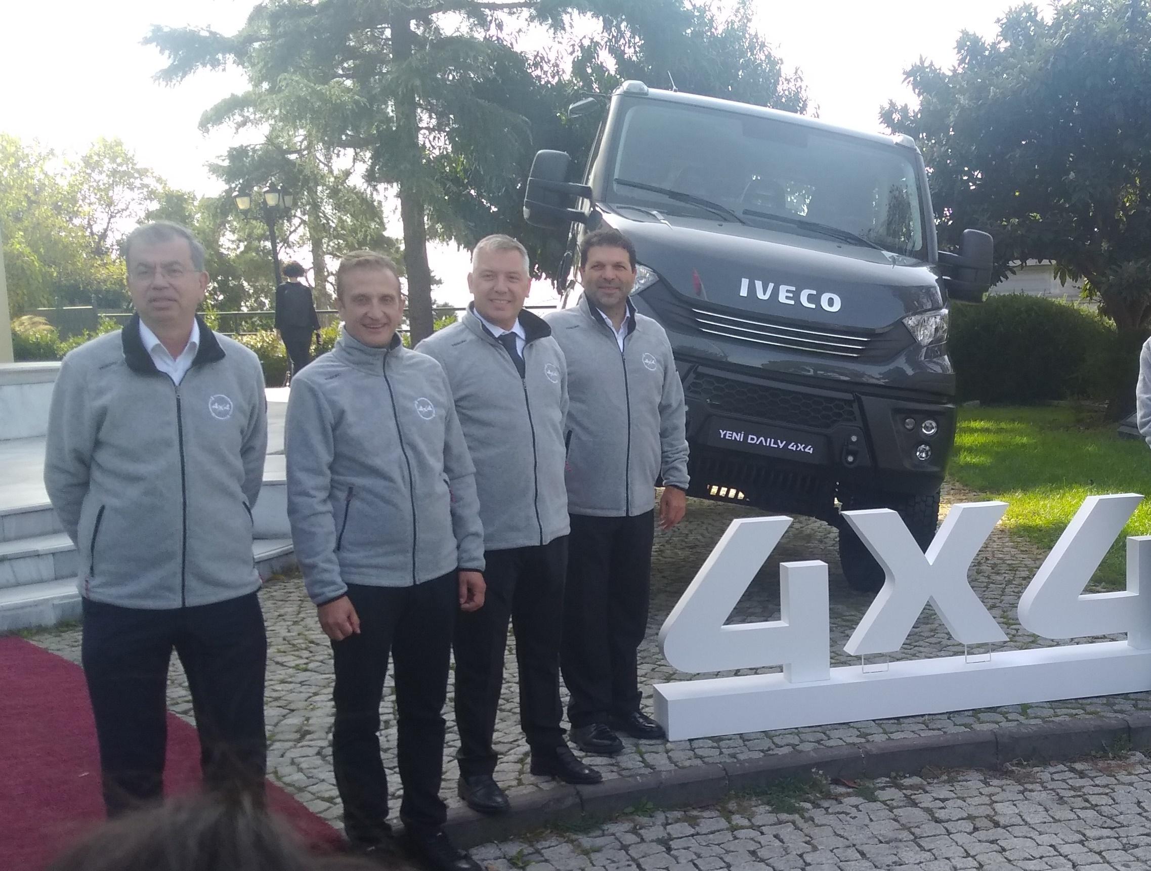 IVECO, off-road ve all-road araçlarını görücüye çıkardı