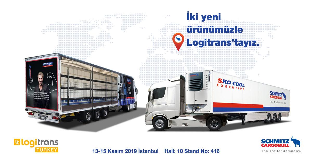 Schmitz Cargobull iki yeni ürünüyle Logitrans Fuarı'nda