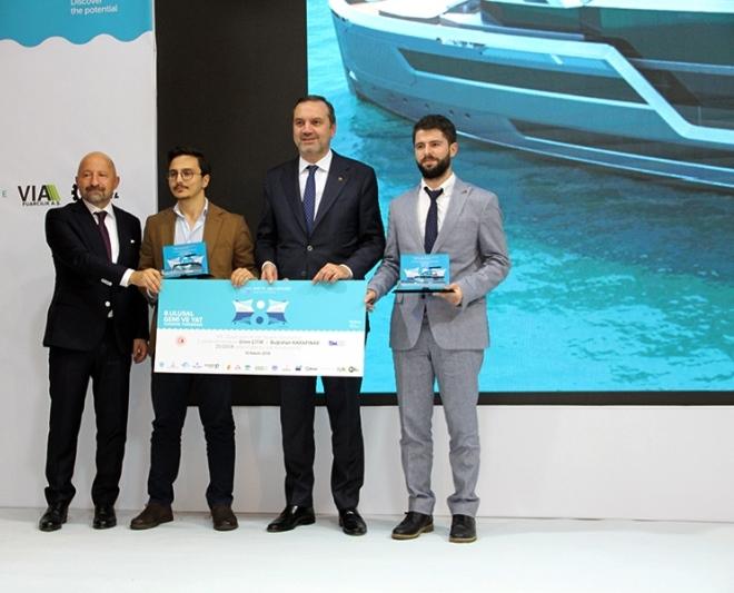 Gemi ve Yat Tasarım Yarışması'nda ödüller sahibini buldu