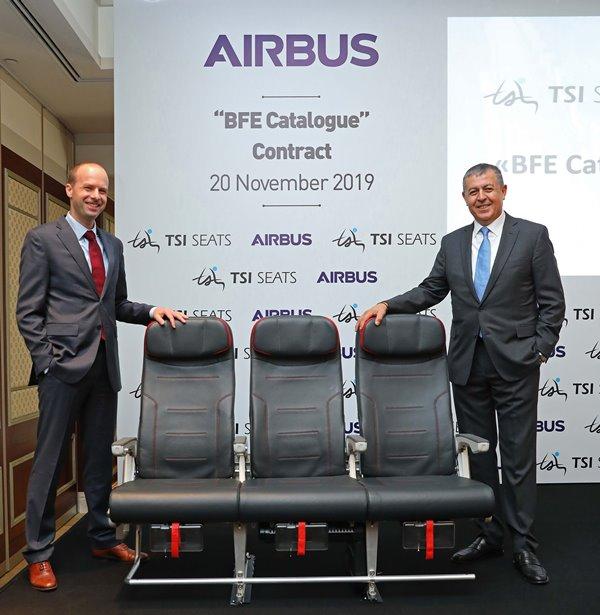 "TSI Seats, Airbus'ın ""Onaylı Koltuk Tedarikçisi"" oluyor"