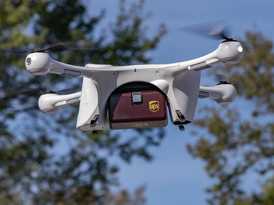 UPS Flight, drone havayolu için tam onay aldı