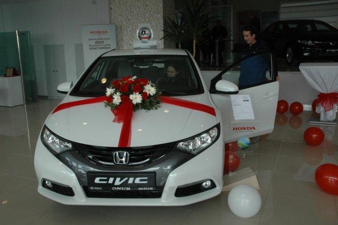 Yeni Honda Civic Çorlu'da tanıtıldı