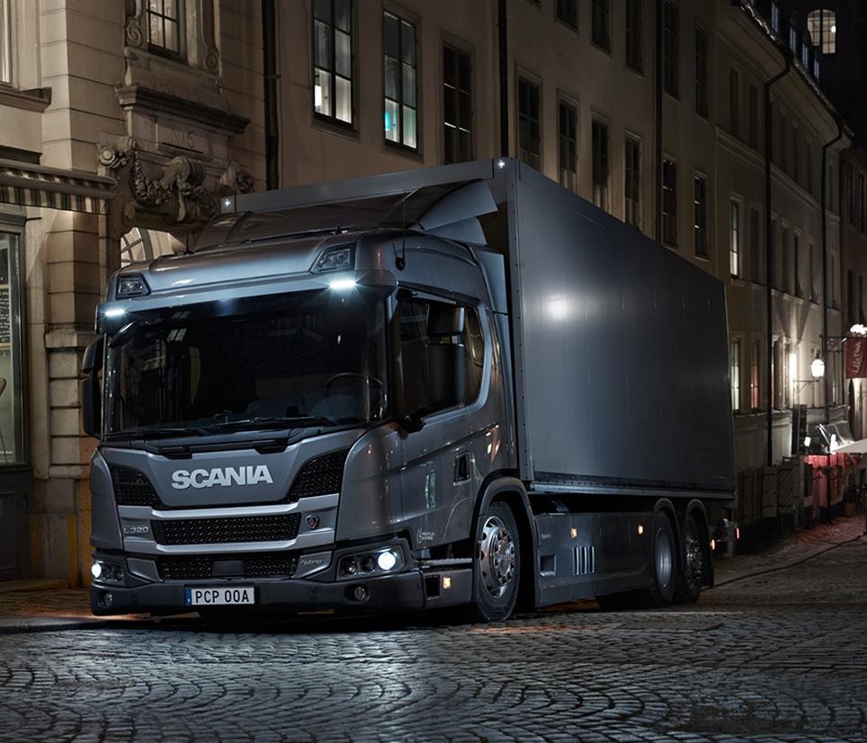 """Scania hibride, """"Yılın Sürdürülebilir Aracı"""" ödülü"""