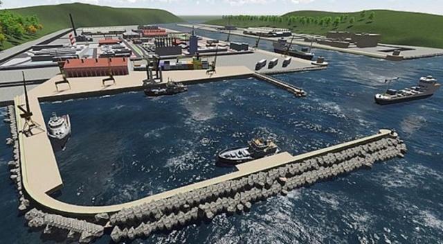 Kardemir'in talip olduğu dev liman tamamlanmak üzere