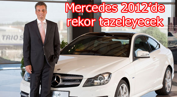 Mercedes 2012'de rekor tazeleyecek