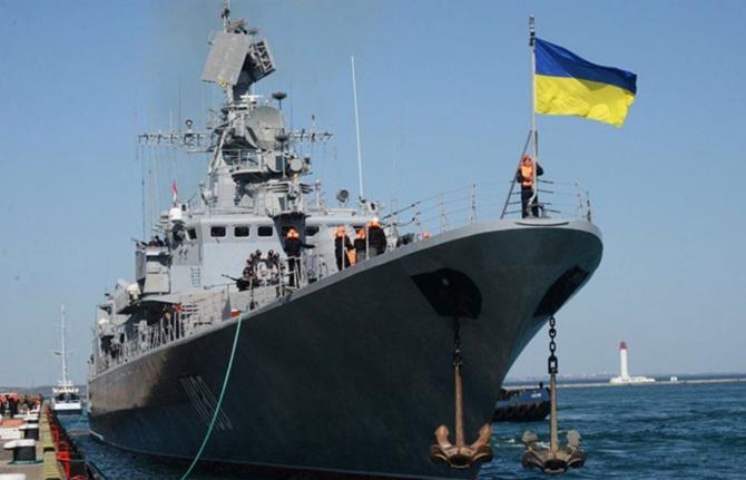 Ukrayna donanması gemilerini Dese işletecek