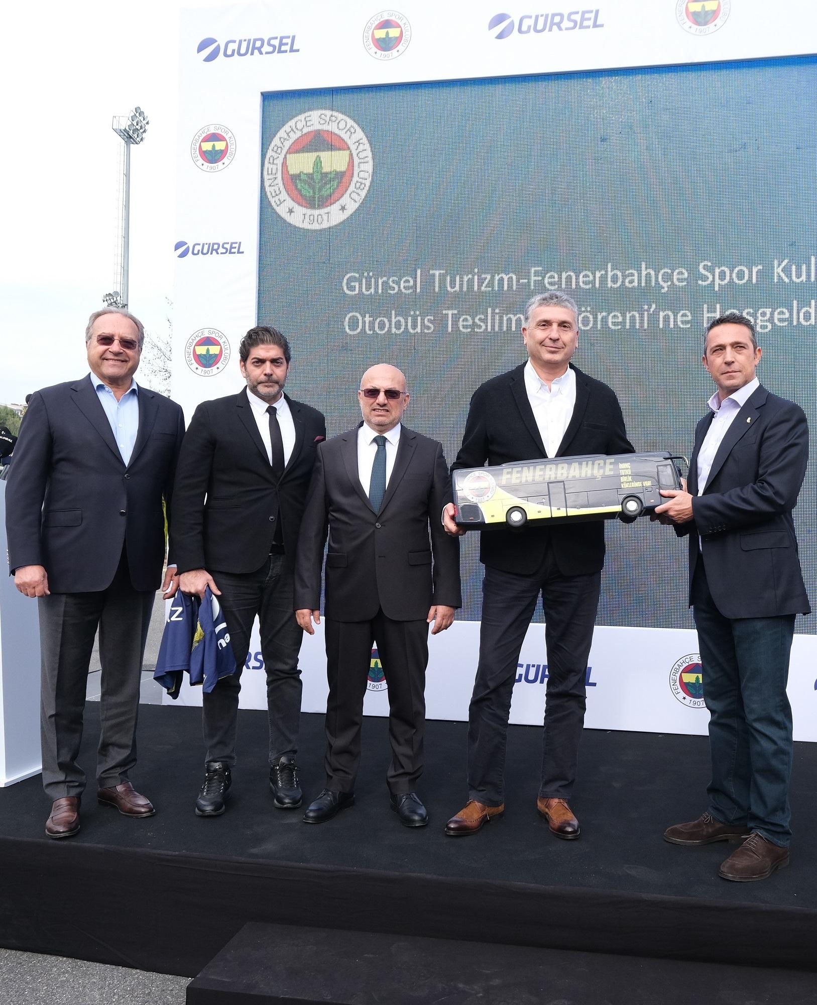 """Gürsel Turizm'den """"Fenerbahçe'ye özel"""" Tourismo"""