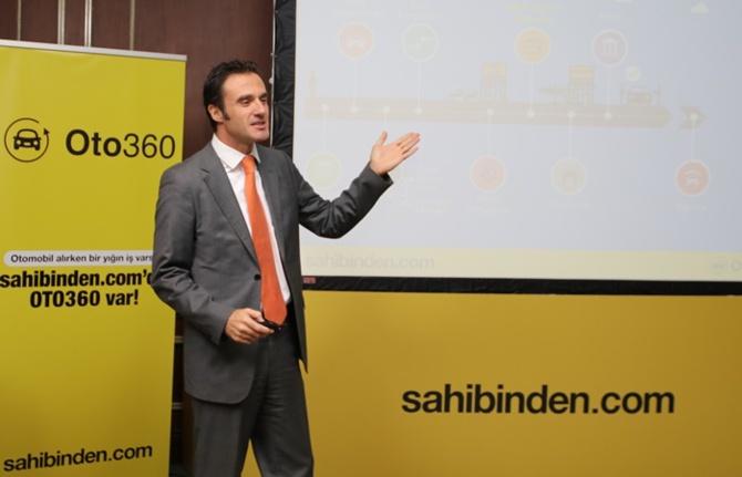 "sahibinden.com, ""Oto360"" platformunu tanıttı"