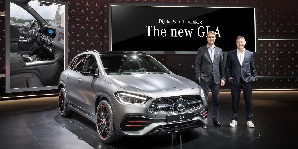 Dünya, aynı anda Yeni Mercedes GLA lansmanını izledi