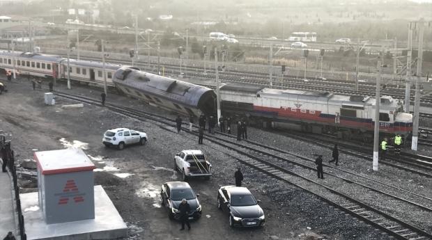 Yer Ankara. Yine tren kazası