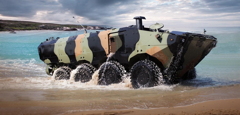 Iveco'dan ABD deniz piyadelerine amfibi araç
