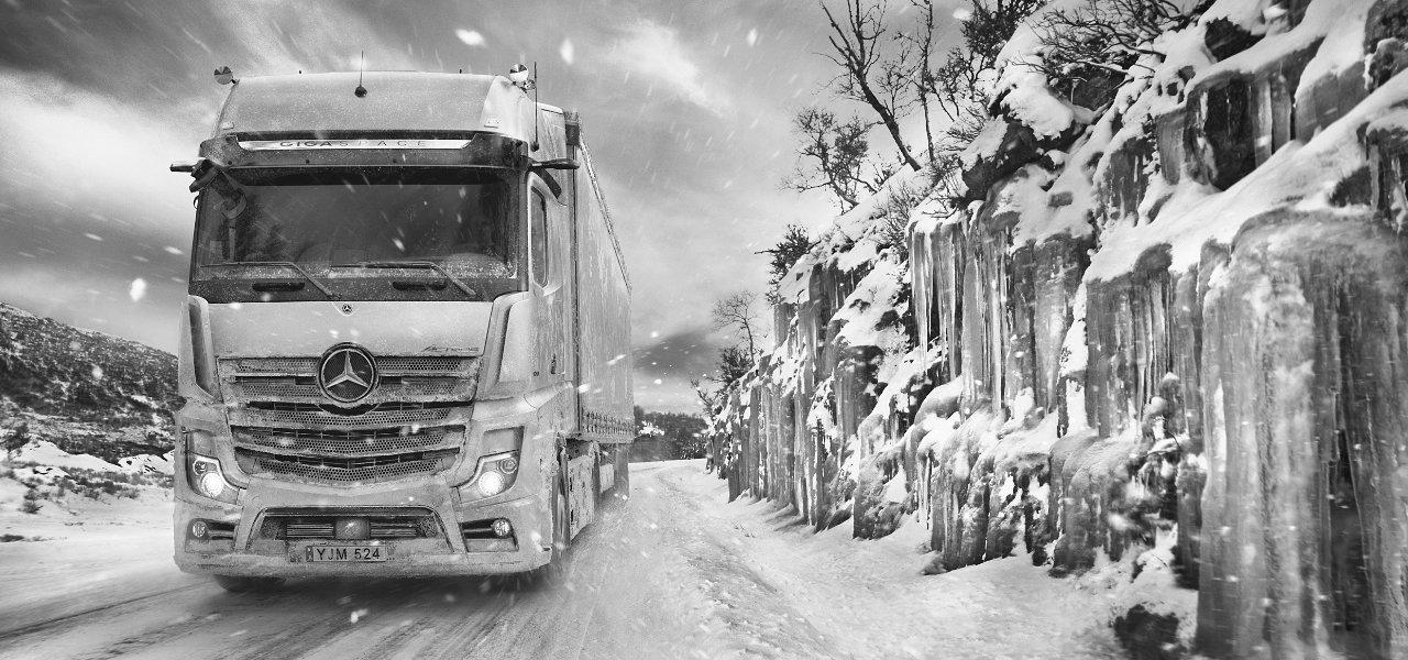 Mercedes'ten ocak ayına özel kamyon kampanyası