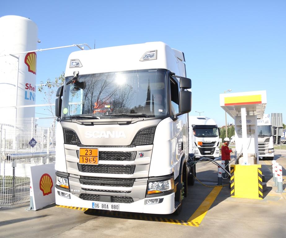 Shell&Turcas, Türkiye'nin ilk LNG istasyonunu açtı