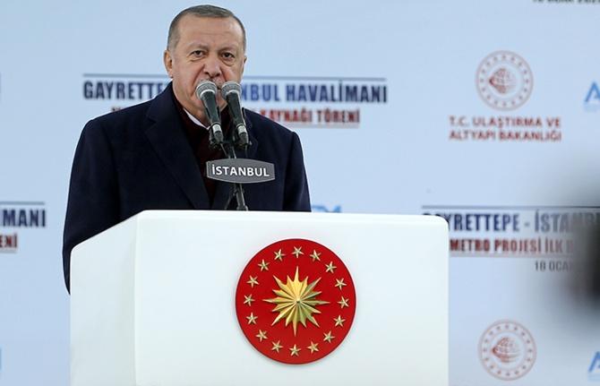 İstanbul Havalimanı-Gayrettepe arasına metro geliyor